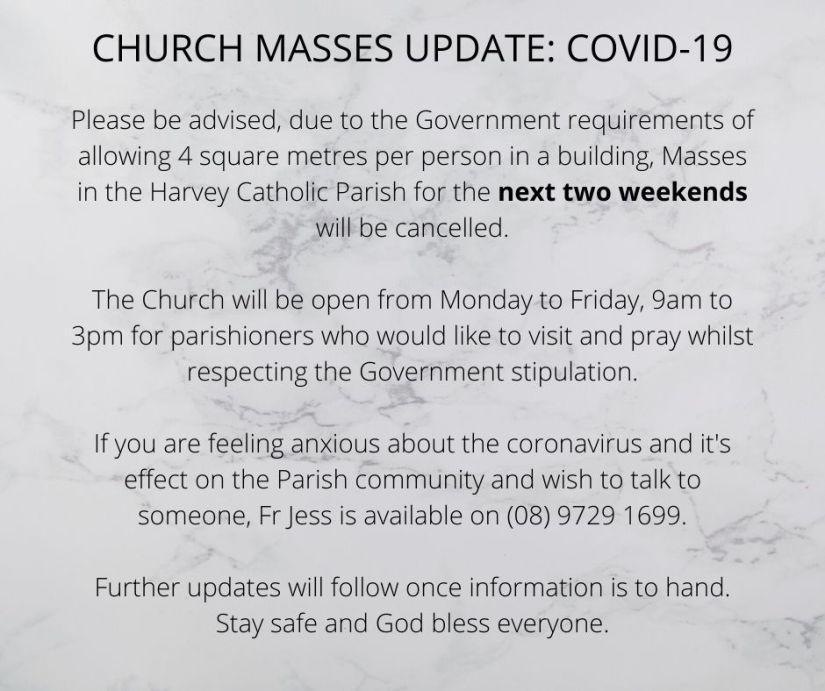 CHURCH MASSES UPDATE_ COVID-19